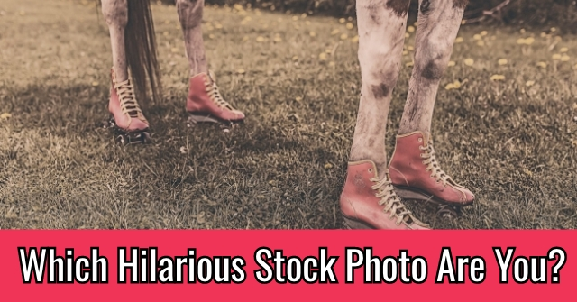 Which Hilarious Stock Photo Are You?