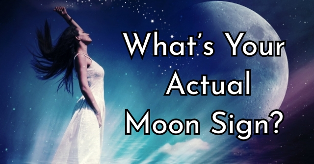 What's Your Actual Moon Sign?