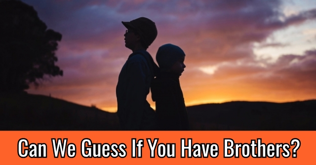 Can We Guess If You Have Brothers?
