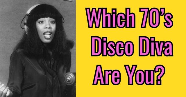 Which 70's Disco Diva Are You?