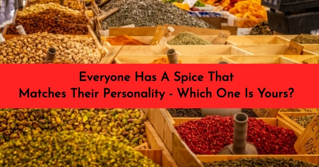 Everyone Has A Spice That Matches Their Personality – Which One Is Yours?