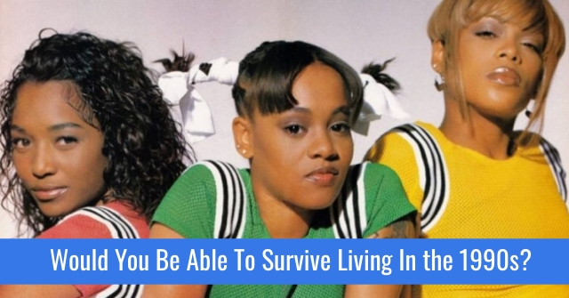 Would You Be Able To Survive Living In the 1990s?