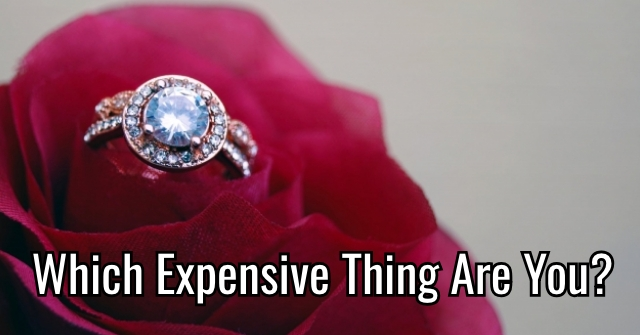 Which Expensive Thing Are You?