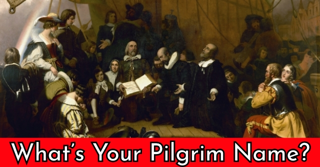 What's Your Pilgrim Name?