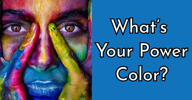 What's Your Power Color?