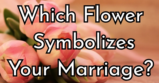 Which Flower Symbolizes Your Marriage?