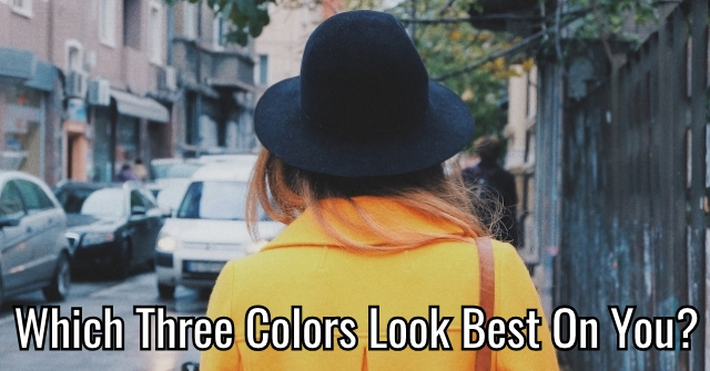 Which Three Colors Look Best On You?