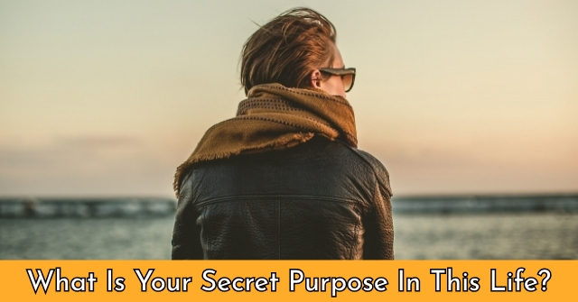 What Is Your Secret Purpose In This Life?