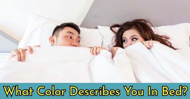 What Color Describes You In Bed?