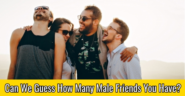 Can We Guess How Many Male Friends You Have?