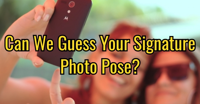 Can We Guess Your Signature Photo Pose?